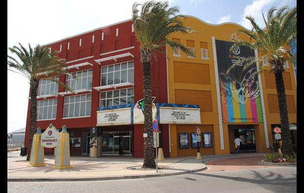 Festival screening venue The Cinemas, a new six-screen multiplex in Willemstad